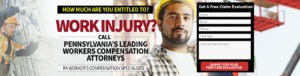 The PA workers' compensation attorney team are certified workers' compensation law specialists by the Pennsylvania Bar Association.