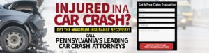 Have you or someone that you love been injured in a car accident? Get Legal Help now! Contact the experienced Central PA car accident attorney at Freeburn Hamilton today!