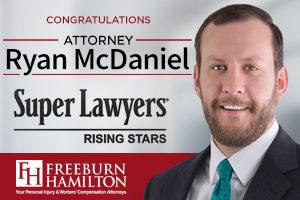 Attorney Ryan McDaniel, Super Lawyers Rising Star
