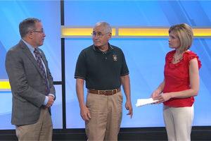 Dick Freeburn, Bob Einsel, and Amy Kehm
