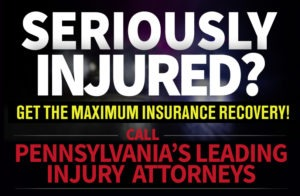At the law office of Pennsylvania Serious Injury Lawyers Freeburn Hamilton, we represent people who have been injured because of another's actions.