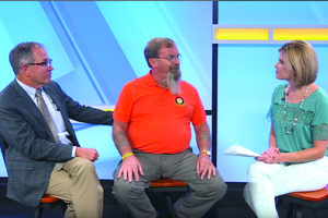 Bob LeGore and Dick Freeburn on Good Day PA