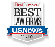 Best Lawyers' Best Law Firms U.S. News 2016