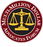 Multi-Million Dollar Advocates Forum Logo